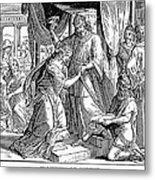 Esther & Ahasuerus Metal Print