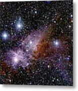 Eta Carinae Nebula, Infrared Image Metal Print