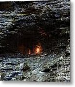 Eternal Flame Reflections Metal Print