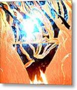 Eternal Torch Metal Print by Tyler Schmeling