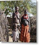 Ethiopia-south Tribeswomen No.1 Metal Print