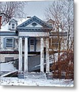 Euclid Avenue Mansion Metal Print