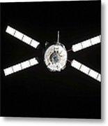 European Space Agencys Jules Verne Metal Print by Stocktrek Images