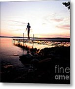 Evanesce - I'm Not Here Metal Print by Venura Herath