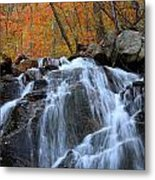 Evans Notch Waterfall Metal Print