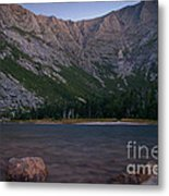 Evening At Chimney Pond  Metal Print