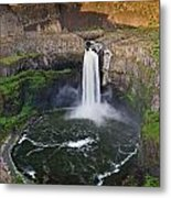 Evening At Palouse Falls Metal Print