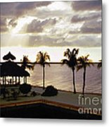 Evening In The Keys - Key Largo Metal Print