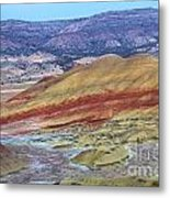 Evening In The Painted Hills Metal Print