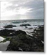 Evening Oceanview Metal Print