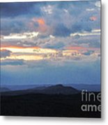 Evening Sky Over The Quabbin Metal Print by Randi Shenkman