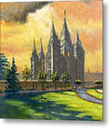 Evening Splendor Metal Print