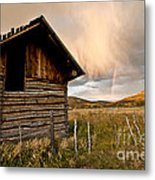 Evening Storm Metal Print by Jeff Kolker