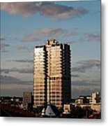 Evening View Of Murray John Tower In Swindon Metal Print by Nick Temple-Fry
