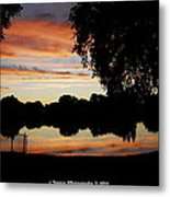 Evenings On The Water  Metal Print
