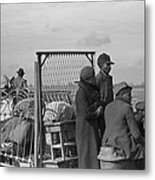 Evicted African-american Sharecroppers Metal Print by Everett