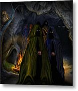 Evil Speaking Metal Print by Alessandro Della Pietra