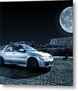 Evo 7 At Night Metal Print