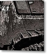 Excavate Metal Print by Tim Nichols