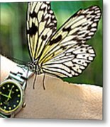 Excuse Me What Time Is It Now Metal Print