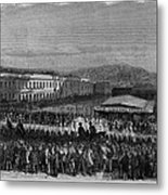 Execution Of James P. Casey And Charles Metal Print