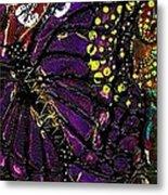 Exotic Butterflies II Metal Print