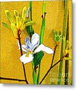 Exotic Flowers Metal Print