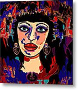 Exotic Woman Metal Print