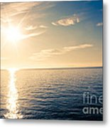 Extended Touch  Metal Print