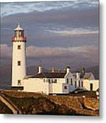 Exterior Of Fanad Lighthouse Fanad Metal Print