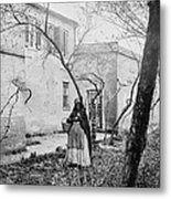 Exterior Of The Slave Pen Of Price Metal Print by Everett
