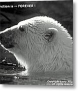 Extinction Is Forever Metal Print
