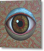 Eye Dew Metal Print