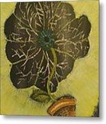 Eye Flower Metal Print