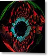 Eye Of A Peacock... Metal Print