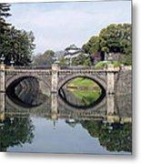 Eyeglass Bridge Metal Print