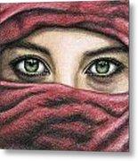 Eyes Magic Metal Print