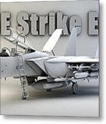 F-15e Strike Eagle Metal Print