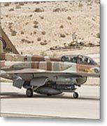 F-16i Sufa Fighting Falcon Metal Print