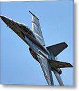 F-18 Hornet Metal Print