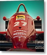 1985 Ferrari 156/85 F1 Nose Metal Print