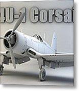 F4u-1 Corsair Metal Print