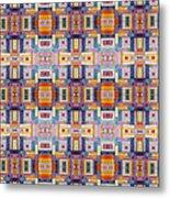 Fabric Art Metal Print