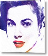 Face Of Beauty Metal Print by Steve K