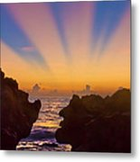 Face The Morning Metal Print
