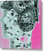 Faced With Doubt Metal Print