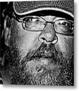 Faces From The Street Metal Print