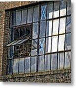 Factory Air In New Orleans Metal Print