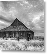 Faded With Age Metal Print