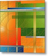 Failing Perspective Limited Edition Metal Print